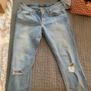 Lucky Brand ripped jeans